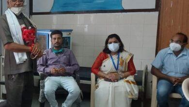 Photo of अयोध्या प्रसाद गौतम हुए सेवानिवृत्त दी गई बिदाई