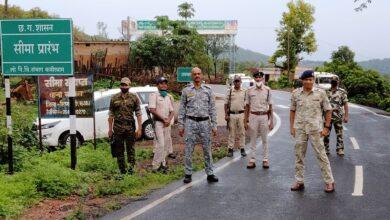 Photo of नक्सल दस्तक के मद्देनजर सीमा पर किले बंदी की तैयारी