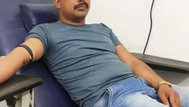 Photo of CRPF के जवान संजय तिवारी ने किया रक्तदान