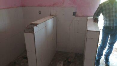 Photo of बनते ही जर्जर हुआ सामुदायिक स्वच्छता  परिसर, उमरिया पंचायत