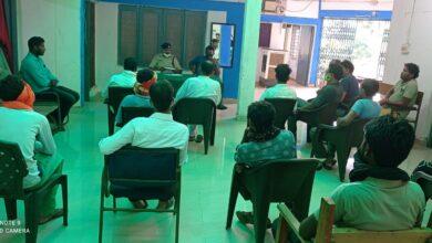 Photo of समनापुर थाने में संपन्न हुई शांति समिति की बैठक