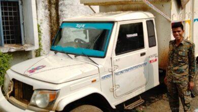 Photo of पशु तस्करी के आरोप में वाहन जप्त, 9 मवेशी  बरामद,एक आरोपी गिरफ्तार